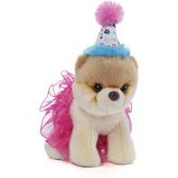 GUND Itty Bitty Boo #027 Birthday Tutu Dog Stuffed Animal Plush- 5""
